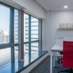 Co-working space with sea view