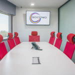 Meeting room can fit up to 10 people